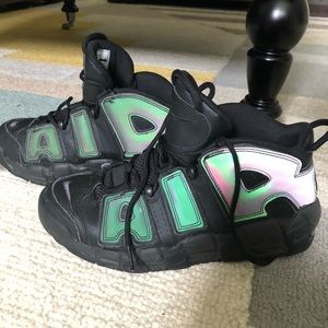 Nike AIR Uptempo Iridescent 7 Youth 7Y